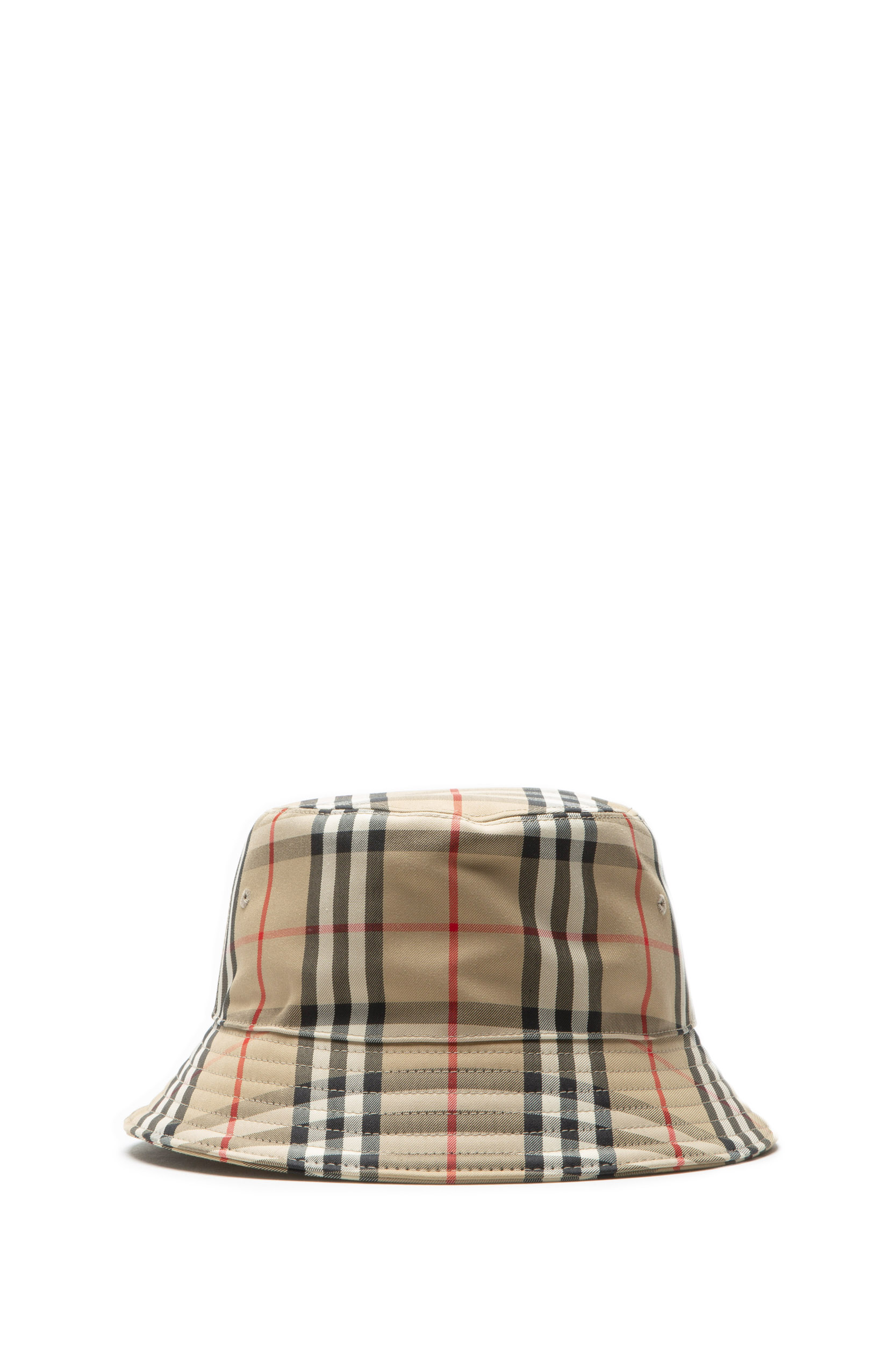 BURBERRY 8021508 HAT WITH VINTAGE CHECK ...
